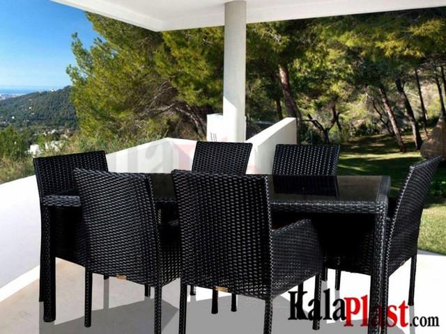 ست میز و صندلی کاردینال 6 نفره (میز 180 cm)