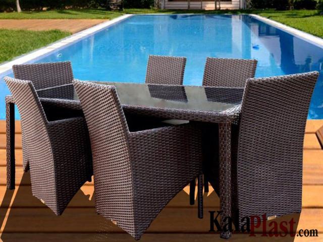 ست میز و صندلی فول کاردینال 6 نفره (180 cm)