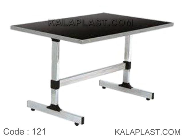 میز 6 نفره مستطیل صفحه MDF کد 121