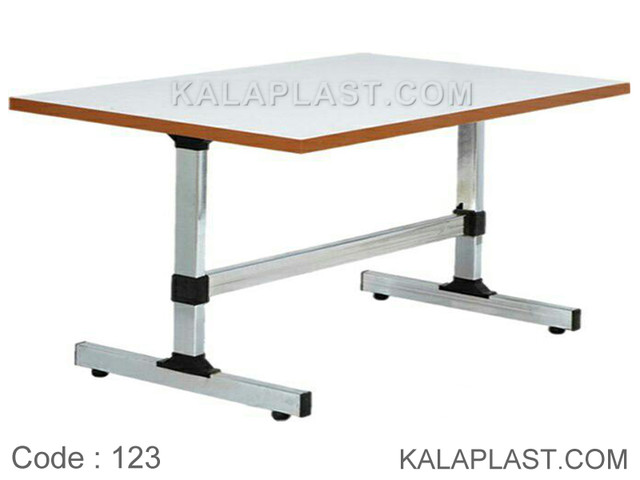 میز 8 نفره مستطیل صفحه MDF کد 123