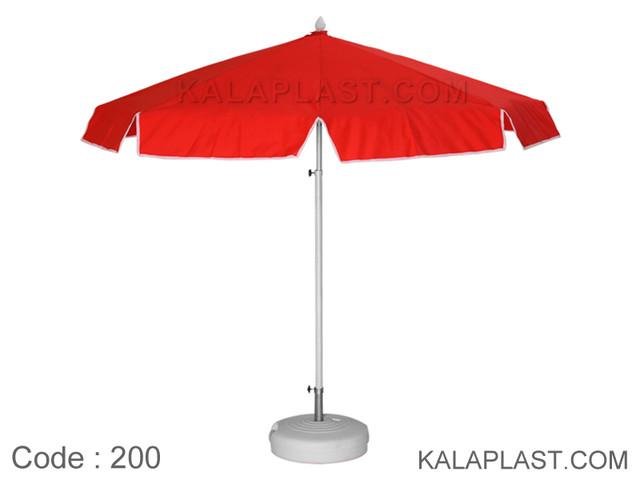چتر نانو قطر 2 متر با کفی پلاستیکی کد 200