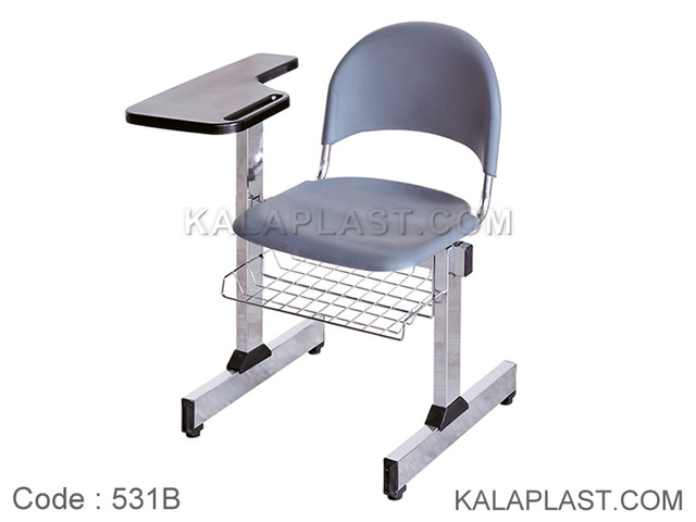 صندلی آموزشی متال پلاست با سبد کد 531B