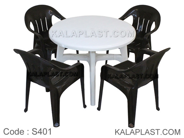 ست میز و صندلی 4 نفره کد S401