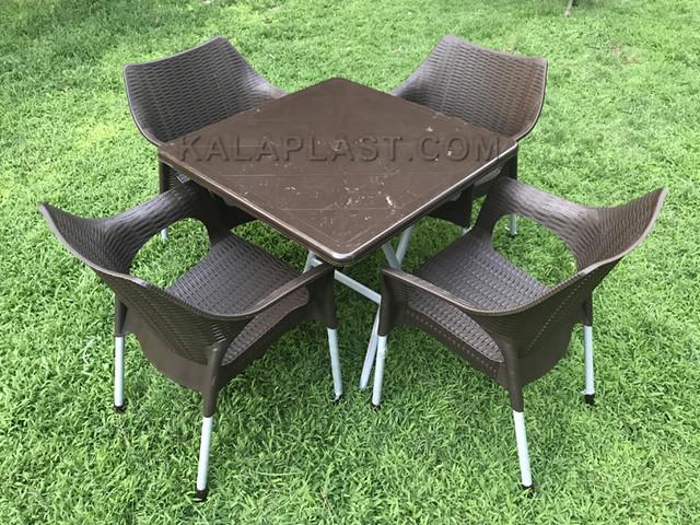 ست میز و صندلی 4 نفره پیکا کد S478