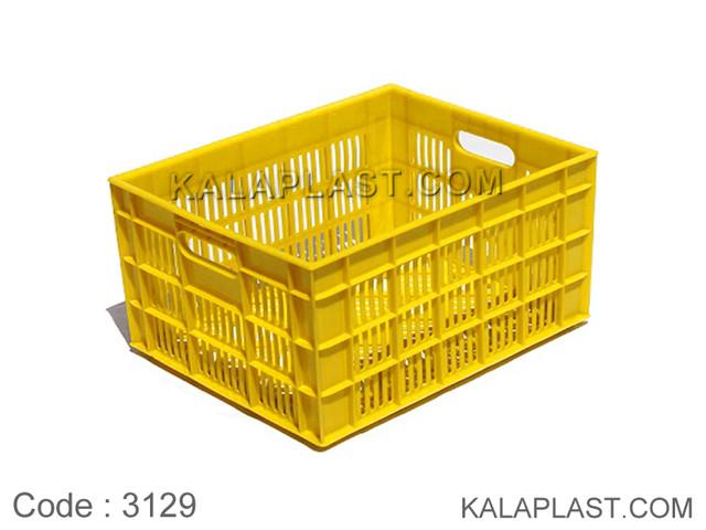 سبد صنعتی پلاستیکی کد 3129