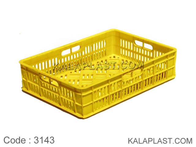 سبد صنعتی پلاستیکی کد 3143
