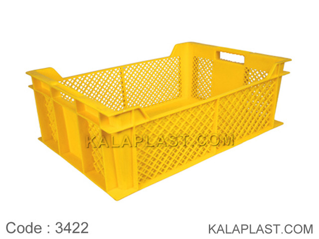 سبد صنعتی پلاستیکی کد 3422