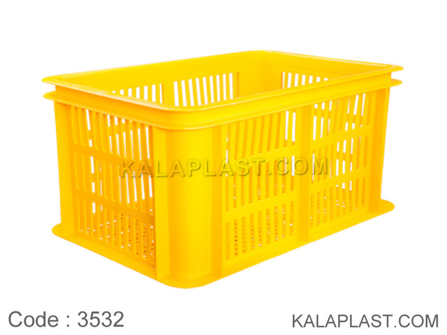 سبد صنعتی پلاستیکی کد 3532