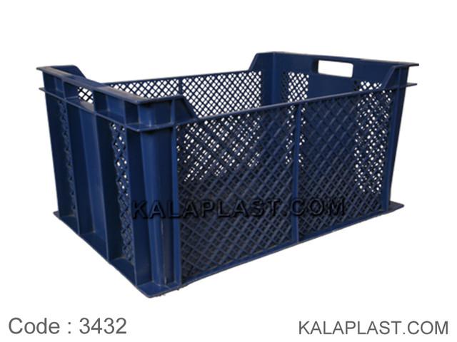 سبد صنعتی پلاستیکی کد 3432