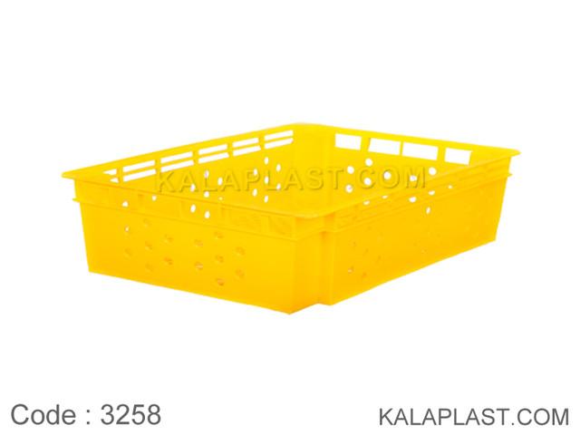 سبد صنعتی پلاستیکی کد 3258