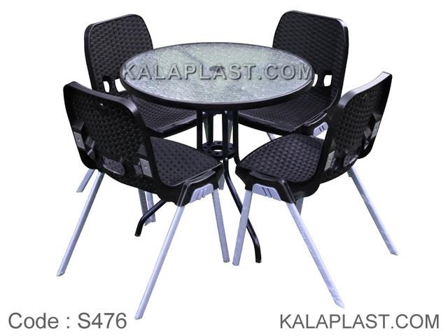 ست میز و صندلی 4 نفره کد S476