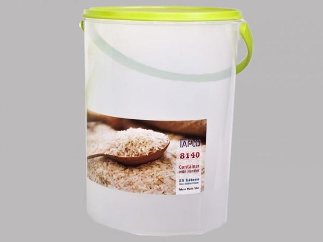 سطل برنج 25 کیلویی دسته دار