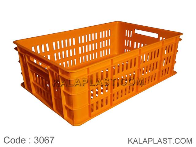 سبد صنعتی پلاستیکی کد 3067