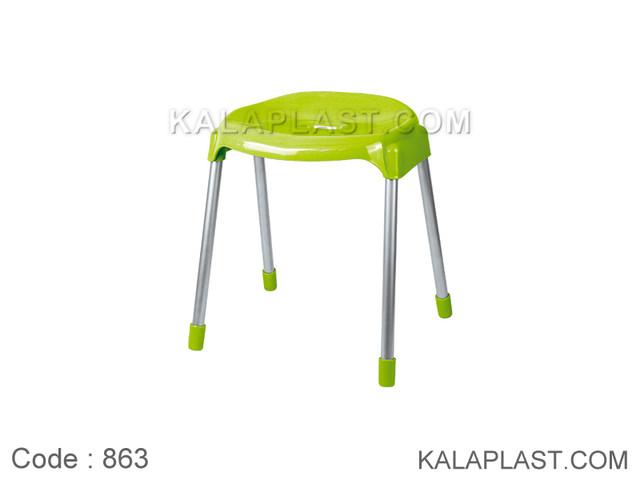 چهارپایه پایه فلزی متوسط کد 863