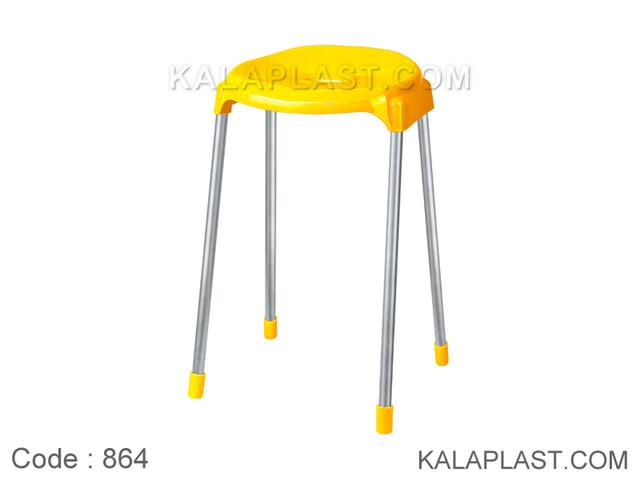 چهارپایه پایه فلزی بلند کد 864