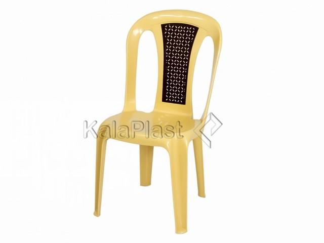 پک 50 عددی صندلی بدون دسته پلاستیکی