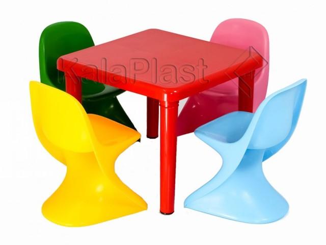 ست میز و صندلی کودک 4 نفره کد 403