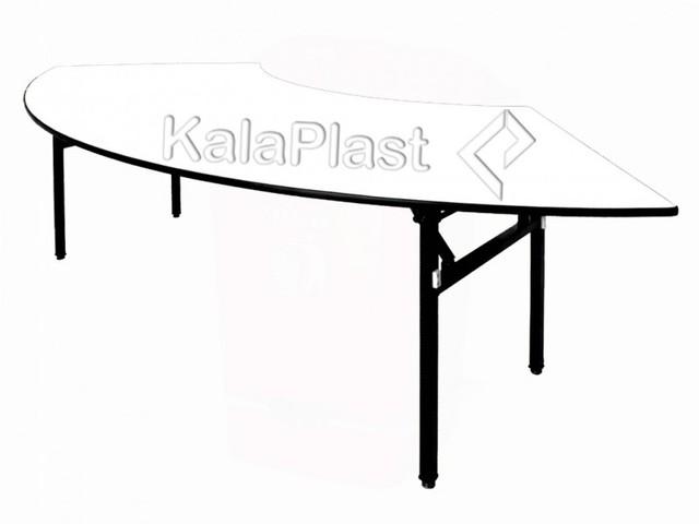 میز رستورانی تاشو هلالی کلاپر