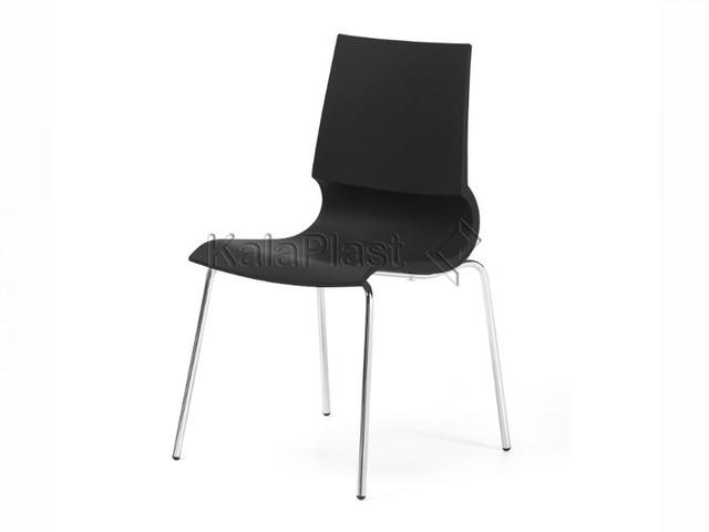صندلی بدون دسته رونی با پایه فلزی