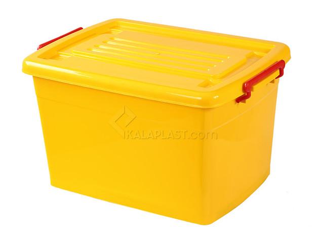 صندوق چرخدار کد 208 / زرد