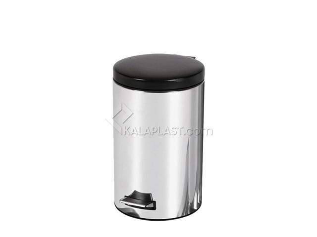 سطل زباله استیل پدال دار 8 لیتری مدل A30