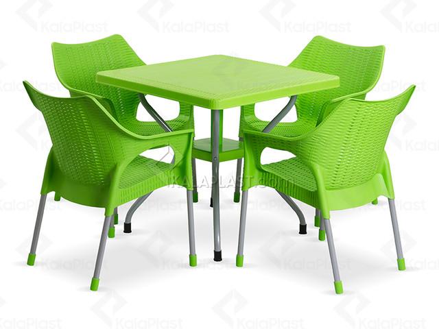 ست میز و صندلی 4 نفره سالتا کد 991623