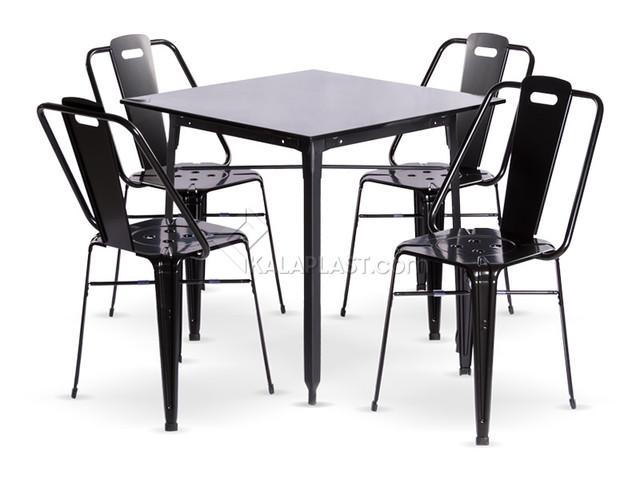 ست میز و صندلی فلزی فلورانس 751150