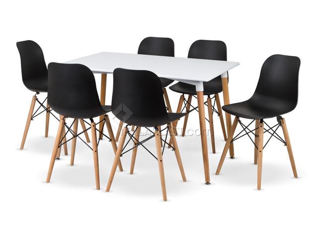 ست میز و صندلی 6 نفره ژینا