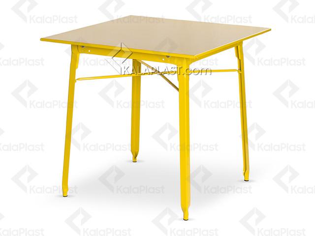 میز 80×80 تمام فلزی