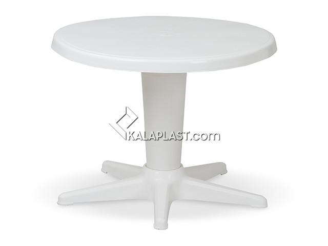 میز کودک و عسلی گرد پلاستیکی تک پایه کد 200