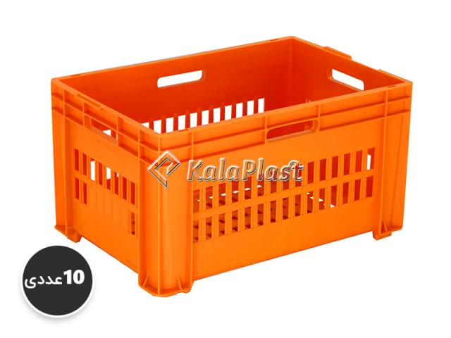 پک 10 عددی سبد صنعتی پلاستیکی کد 3205