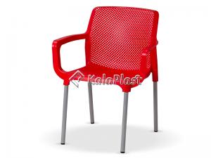 صندلی دسته دار پایه فلزی نت کد 182