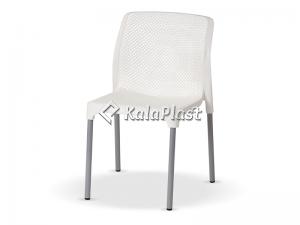 صندلی بدون دسته  پایه فلزی نت کد 184
