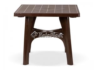 میز 4 نفره مربع پلاستیکی با پایه های متصل کد 122
