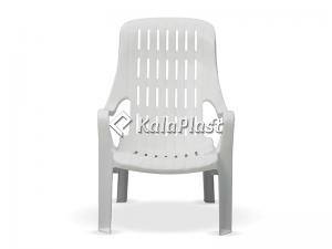 صندلی استخری دسته دار پلاستیکی کد 143