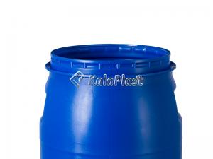 بشکه پلاستیکی 30 لیتری افق با کمربند فلزی