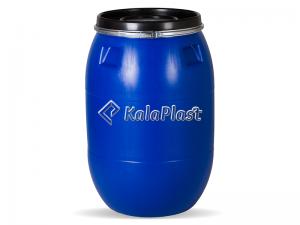 بشکه پلاستیکی 220 لیتری ضخیم با رینگ فلزی جهان