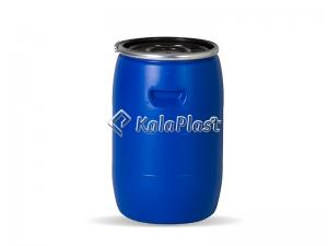 بشکه پلاستیکی 60 لیتری ضخیم با رینگ فلزی جهان