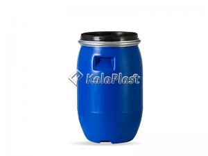 بشکه پلاستیکی 30 لیتری ضخیم با کمربند فلزی جهان