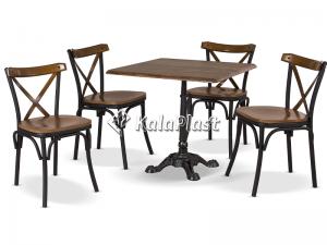 ست میز و صندلی 4 نفره تونت