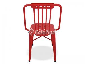صندلی تمام فلزی نوید مدل طاووسی
