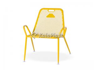 صندلی تمام فلزی نسیم مدل ریلکسی