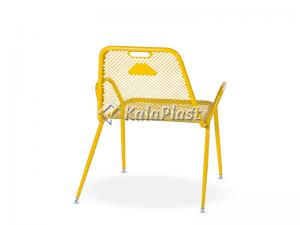 صندلی تمام فلزی نسیم مدل ریلکسی (کوتاه)