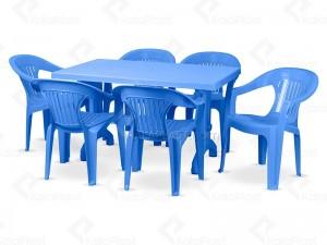 ست میز و صندلی 6 نفره ارکیده 824 868