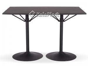 میز تمام فلزی دو پایه