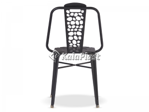 صندلی تمام فلزی نوید طرح سنگ