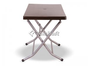میز 6 نفره مستطیل تاشو با پایه فلزی کد 217