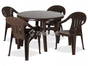 ست میز و صندلی 4 نفره سنبل 205 112