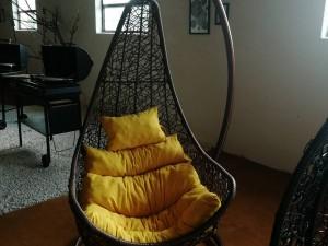 صندلی آویز کفشی با بافت UV