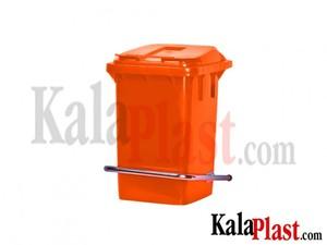 سطل پدالدار 60 لیتری با پدال فلزی نارنجی1.jpg